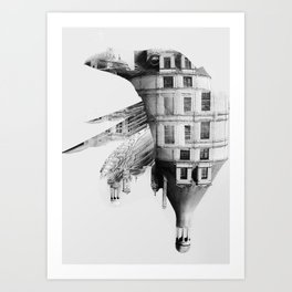 / habitat / home Art Print