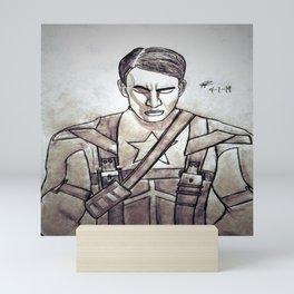 Chris Evans by Double R Mini Art Print