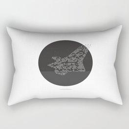 Soars to ever darker height Rectangular Pillow