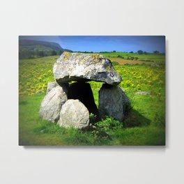 Sligo Dolmen Metal Print