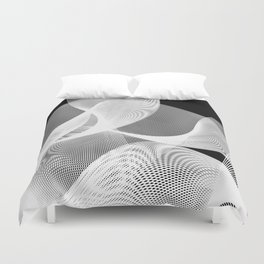 Transparency series A 17 Z Duvet Cover