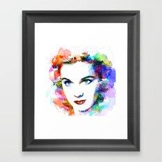 Vivien Leigh Framed Art Print