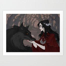 Red Riding Hood Kunstdrucke