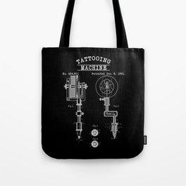 Retro Tattoo Machine | Tattoo Artist Tote Bag