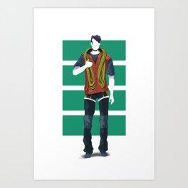 rope friend Art Print