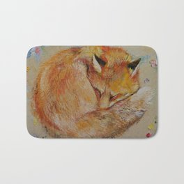 Sleeping Fox Bath Mat