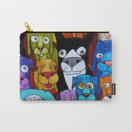 Watching Cats Carry-All Pouch