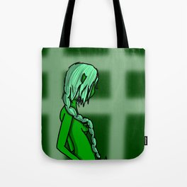 Green | Veronica Nagorny Tote Bag