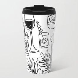 Alcohol Doodles Travel Mug