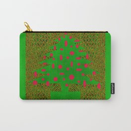 Christmas Tree Abstract Carry-All Pouch