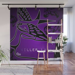 KILLER LADY PURPLE Wall Mural