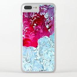 Amoré Tempesto (Love Storm) Clear iPhone Case