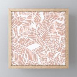 waimea beach Framed Mini Art Print