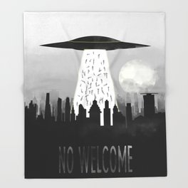 Welcome Throw Blanket
