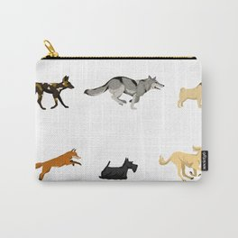 Dogs & Wild Dogs Carry-All Pouch