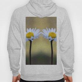 Mirroring delicate daisy flowers Hoody