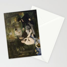 Edouard Manet, Luncheon on the Grass, 1863 Stationery Cards