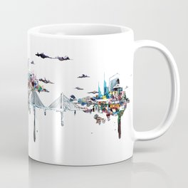 Tilikum Crossing Bridge Coffee Mug