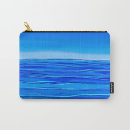 Always sea in the background ... Carry-All Pouch