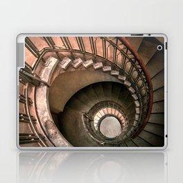Spiral brown staircase Laptop & iPad Skin