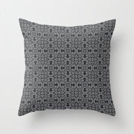 Sharkskin Geometric Pattern Throw Pillow