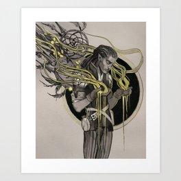 Bard Art Print