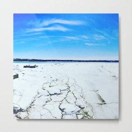 Cold landscape Metal Print
