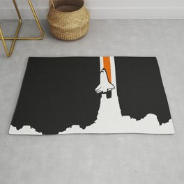 Launch me - The Final Flight of the Space Shuttle Rug