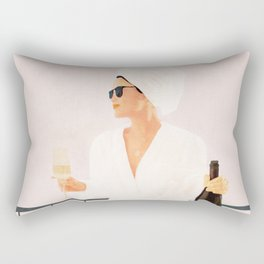 Morning Wine II Rectangular Pillow