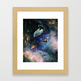 Scream of a Great Bat Framed Art Print