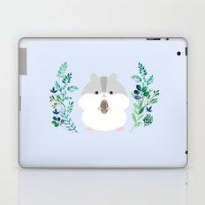 Furball in the garden Laptop & iPad Skin