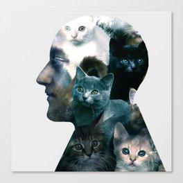 Ben Johnston Kittens Canvas Print