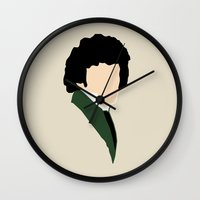 grantaire Wall Clocks featuring Grantaire by Swell Dame