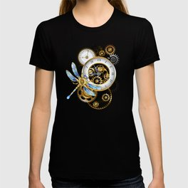 Dials with Dragonfly ( Steampunk ) T-shirt