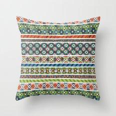 Mosaic N°2 Throw Pillow
