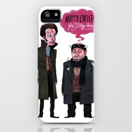 Marv and Harry iPhone Case