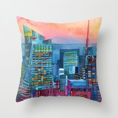 New York buildings vol2 Throw Pillow