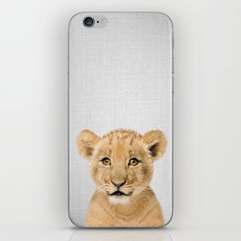 Baby Lion - Colorful iPhone Skin