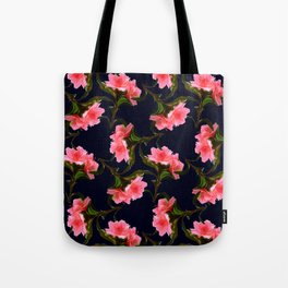 Pink Rhododendron Tote Bag