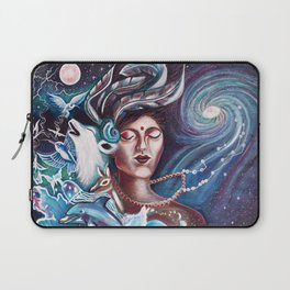 Nature Loves Courage Laptop Sleeve