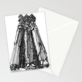 power of three Stationery Cards