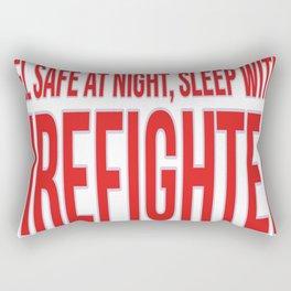 Firefighter Feel And Sleep Rectangular Pillow