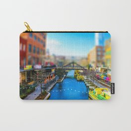 Riverwalk Canal by Monique Ortman Carry-All Pouch