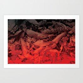 Autumn Leaves, the fall Art Print