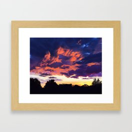 Sky Candy Framed Art Print