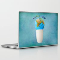 world cup Laptop & iPad Skins featuring World cup by Anne Seltmann