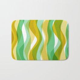 70s Seaweed Print Bath Mat