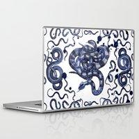snake Laptop & iPad Skins featuring SNAKE by DIVIDUS DESIGN STUDIO