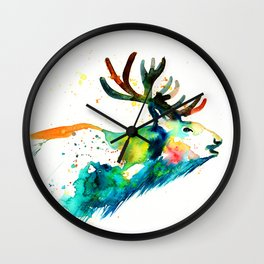 STAG MOOSE Wall Clock