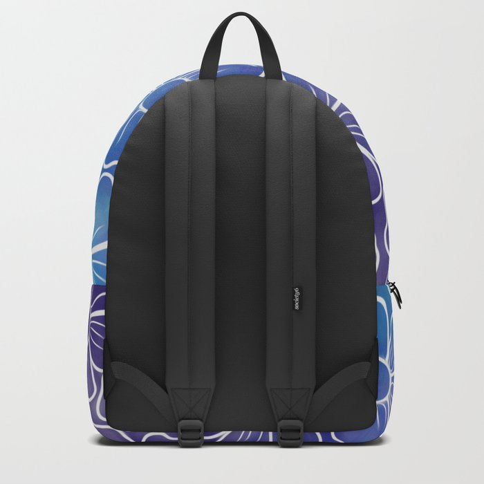 Galaxy Flowers Backpack